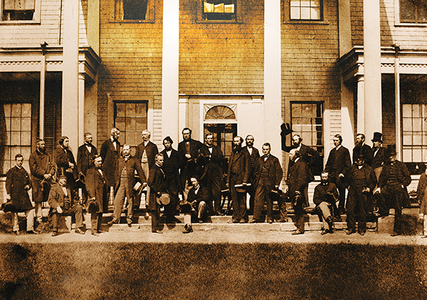 01 PEi story. Fathers of Confederation CREDIT PEI 2014