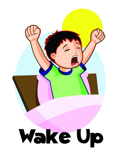 wake up_colour
