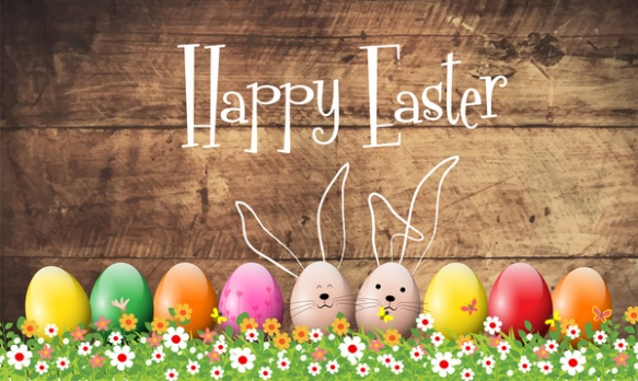 happy_easter_card_vector_design_with_colorful_eggs_6826143